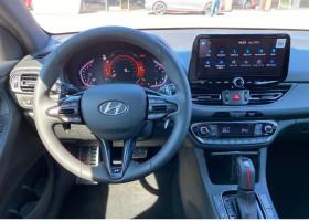 Hyundai i30 1.0 T-GDI 120 DCT-7 N LINE Blanc occasion à Biganos - photo n°2