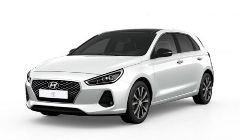 Hyundai i30 1.0 T-GDi 120ch Edition Mondial Blanc occasion à LA QUEUE-EN-BRIE