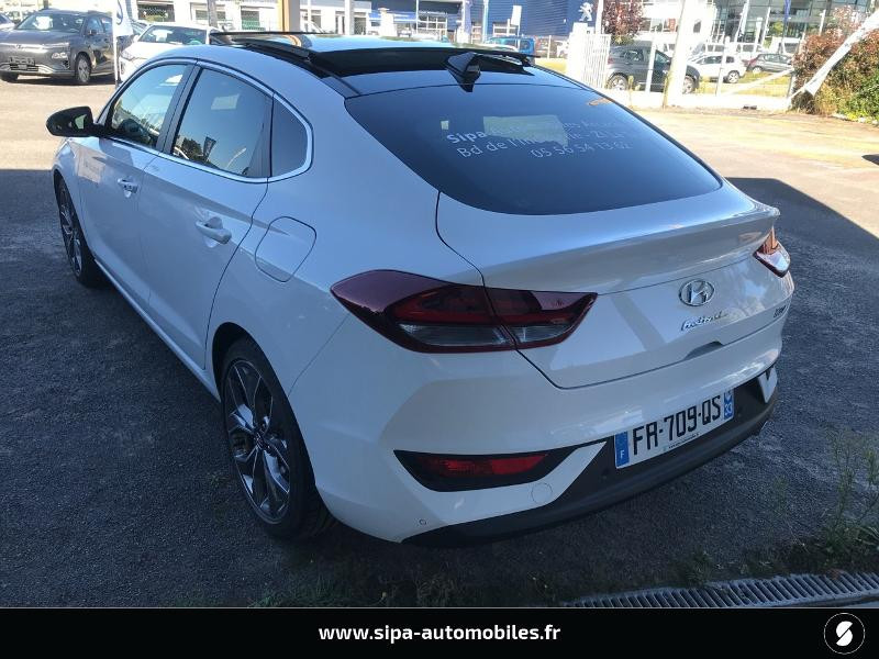 Hyundai i30 1.4 T-GDI 140ch Executive DCT-7 Euro6d-T EVAP Blanc occasion à La Teste-de-Buch - photo n°2