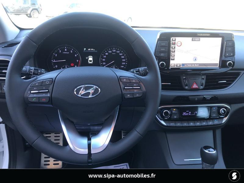 Hyundai i30 1.4 T-GDI 140ch Executive DCT-7 Euro6d-T EVAP Blanc occasion à La Teste-de-Buch - photo n°11