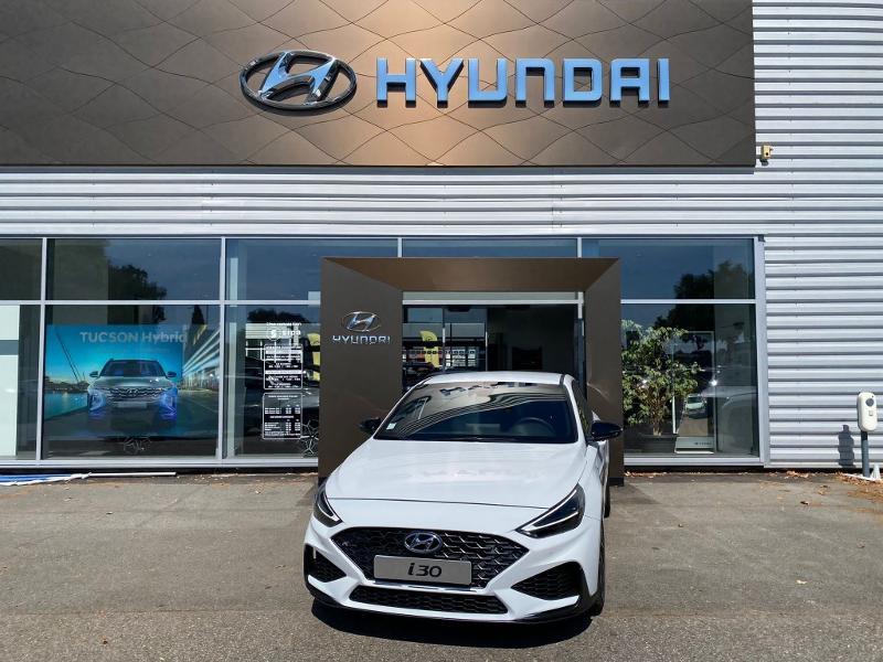 Hyundai i30 1.5 T-GDi 160ch N Line DCT-7 hybrid Blanc occasion à Muret