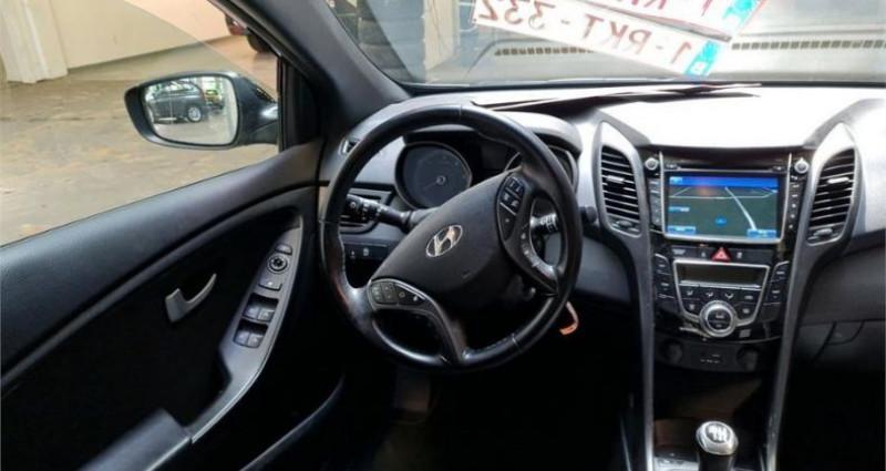 Hyundai i30 1.6 CRDi 110 Blue Drive GO! Noir occasion à CHANAS - photo n°3