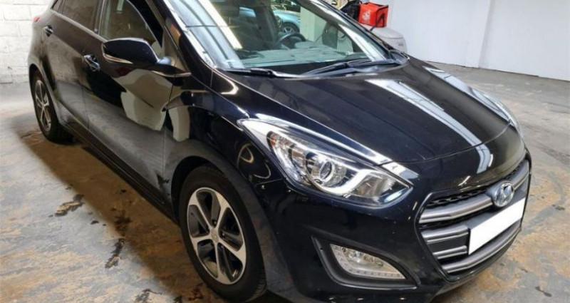 Hyundai i30 1.6 CRDi 110 Blue Drive GO! Noir occasion à CHANAS
