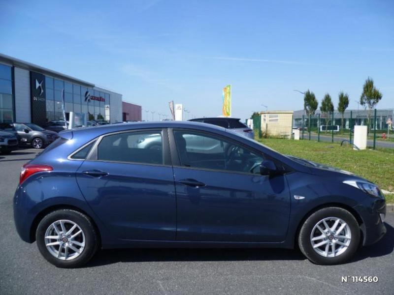 Hyundai i30 I30 1.6 CRDI 110CH BLUE DRIVE GO! 5P Bleu occasion à Mareuil-lès-Meaux - photo n°2