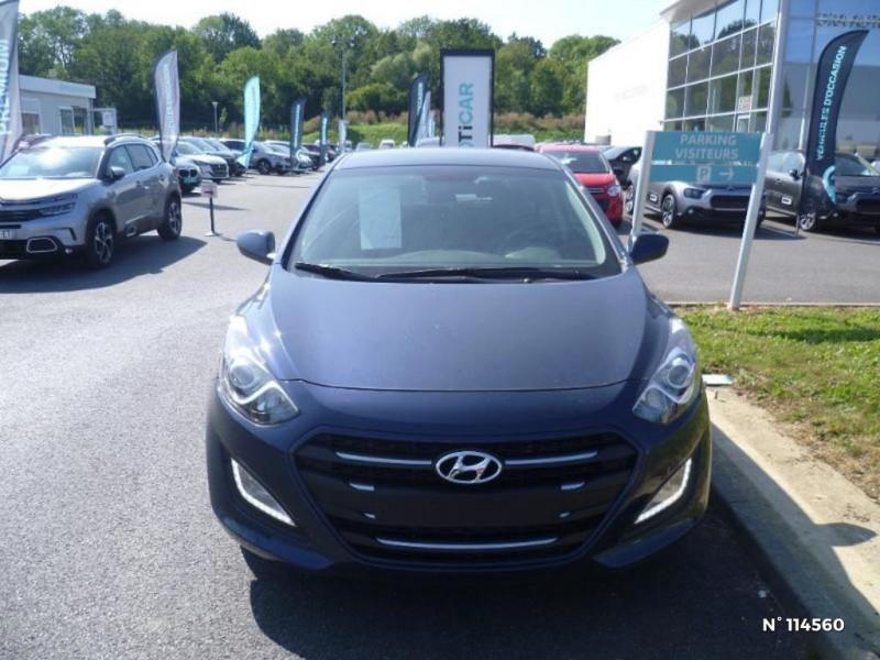 Hyundai i30 I30 1.6 CRDI 110CH BLUE DRIVE GO! 5P Bleu occasion à Mareuil-lès-Meaux - photo n°3
