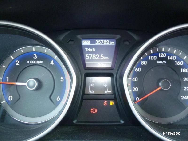 Hyundai i30 I30 1.6 CRDI 110CH BLUE DRIVE GO! 5P Bleu occasion à Mareuil-lès-Meaux - photo n°13