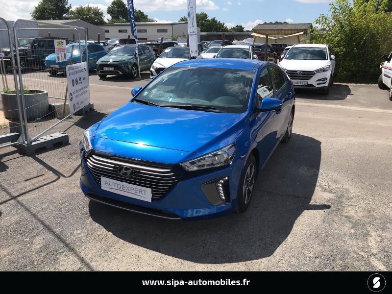 Hyundai Ioniq Hybrid 141ch Business Bleu occasion à La Teste-de-Buch