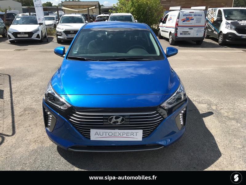 Hyundai Ioniq Hybrid 141ch Business Bleu occasion à La Teste-de-Buch - photo n°8