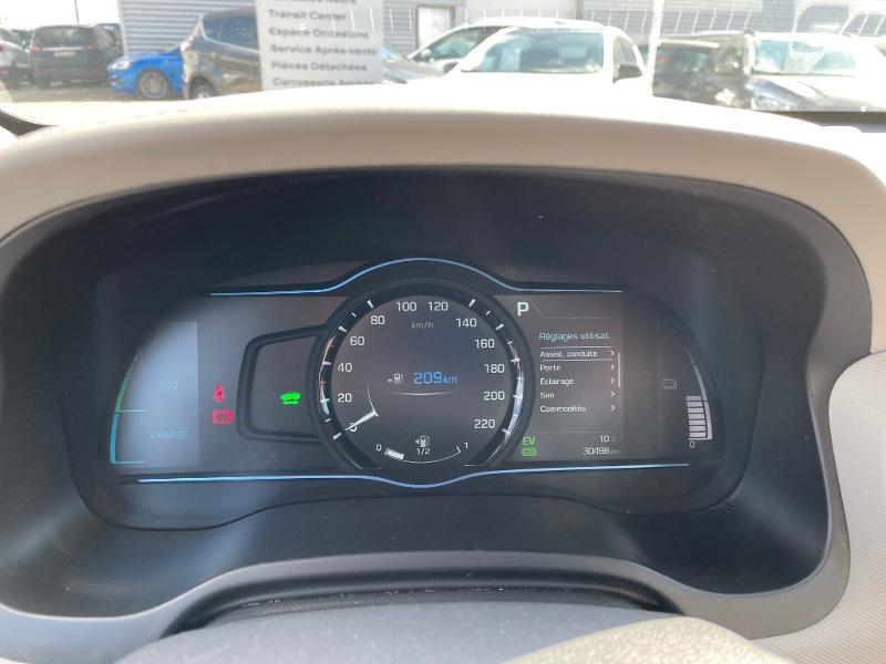 Hyundai Ioniq Hybrid 141ch Executive Gris occasion à Barberey-Saint-Sulpice - photo n°7