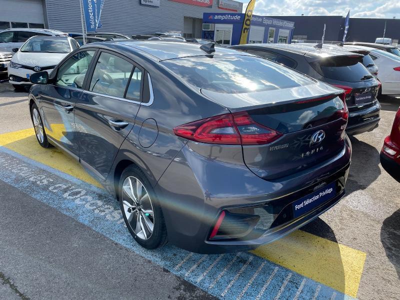Hyundai Ioniq Hybrid 141ch Executive Gris occasion à Barberey-Saint-Sulpice - photo n°2