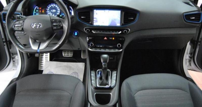 Hyundai Ioniq HYBRID CREATIVE + BSD 1ère Main Blanc occasion à HAGUENEAU - photo n°3