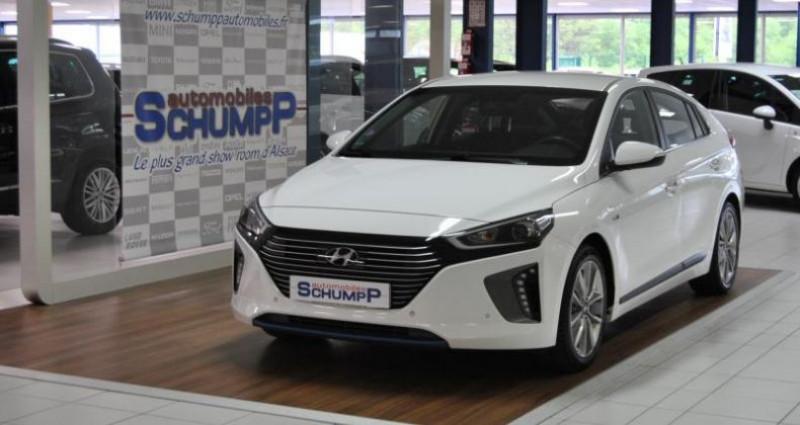 Hyundai Ioniq HYBRID CREATIVE + BSD 1ère Main Blanc occasion à HAGUENEAU