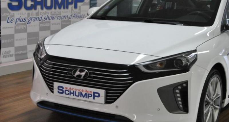 Hyundai Ioniq HYBRID CREATIVE + BSD 1ère Main Blanc occasion à HAGUENEAU - photo n°4