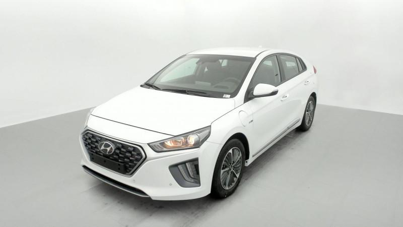 Hyundai Ioniq Plug-in 141 ch Intuitive Blanc occasion à SAINT-GREGOIRE - photo n°3