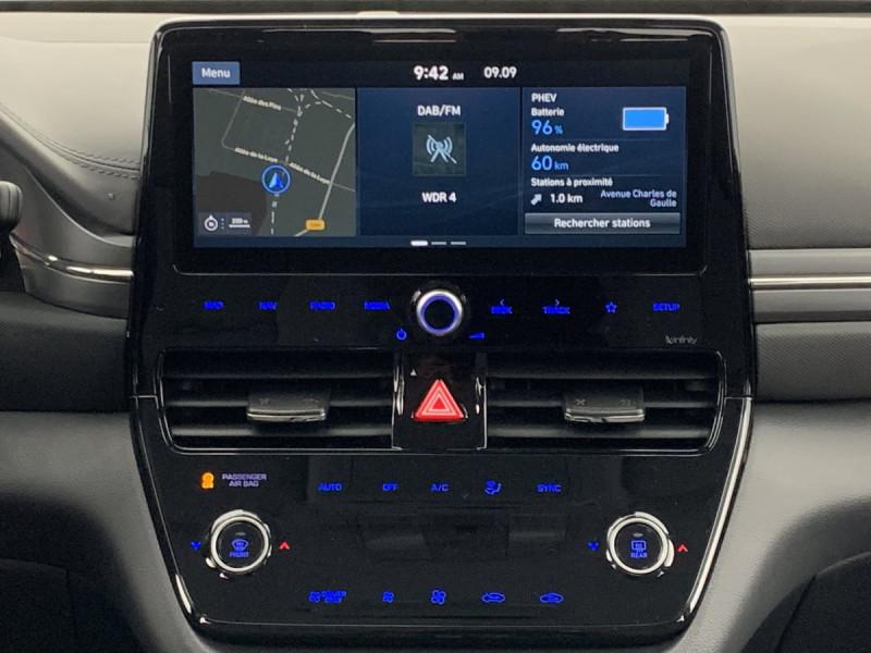 Hyundai Ioniq Plug-in 141 ch Intuitive Blanc occasion à SAINT-GREGOIRE - photo n°12