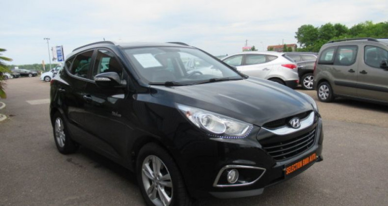 Hyundai IX35 1.7 CRDi 115 Blue Drive Pack Premium Noir occasion à Saint Parres Aux Tertres - photo n°4