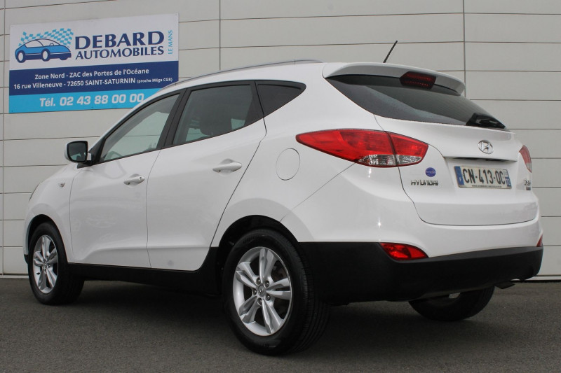 Hyundai IX35 1.7 CRDI PACK EDITION Blanc occasion à Saint-Saturnin - photo n°5