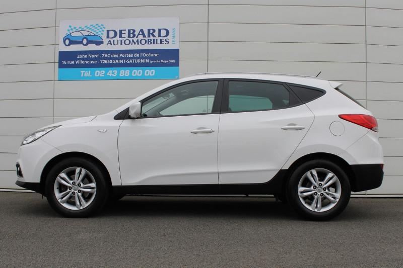 Hyundai IX35 1.7 CRDI PACK EDITION Blanc occasion à Saint-Saturnin - photo n°6
