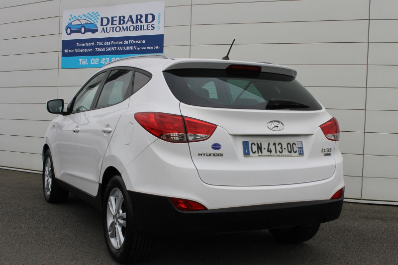Hyundai IX35 1.7 CRDI PACK EDITION Blanc occasion à Saint-Saturnin - photo n°4
