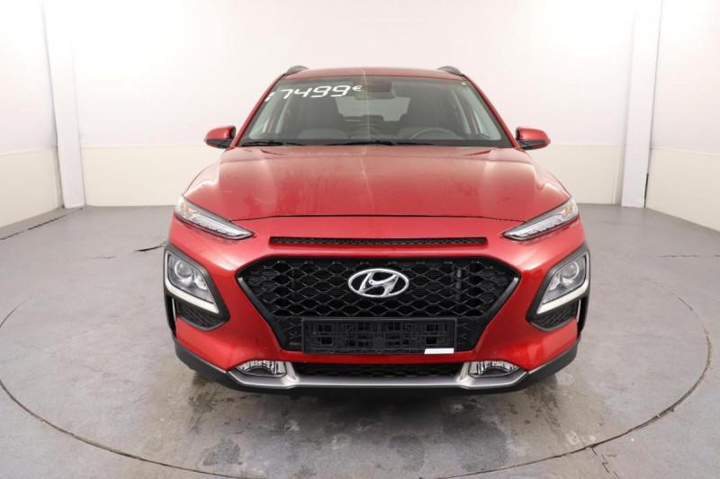 Hyundai Kona 1.0 T-GDi 120 Creative Rouge occasion à Seclin - photo n°2