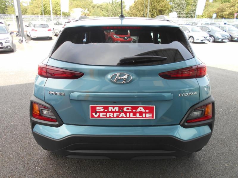 Hyundai Kona 1.0 T-GDi 120 Intuitive Bleu occasion à Bessières - photo n°2