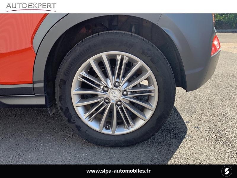 Hyundai Kona 1.0 T-GDi 120ch FAP Creative Orange occasion à Villenave-d'Ornon - photo n°7