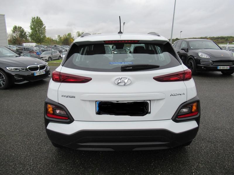 Hyundai Kona 1.6 CRDI 115CH INTUITIVE Blanc occasion à Labège - photo n°9