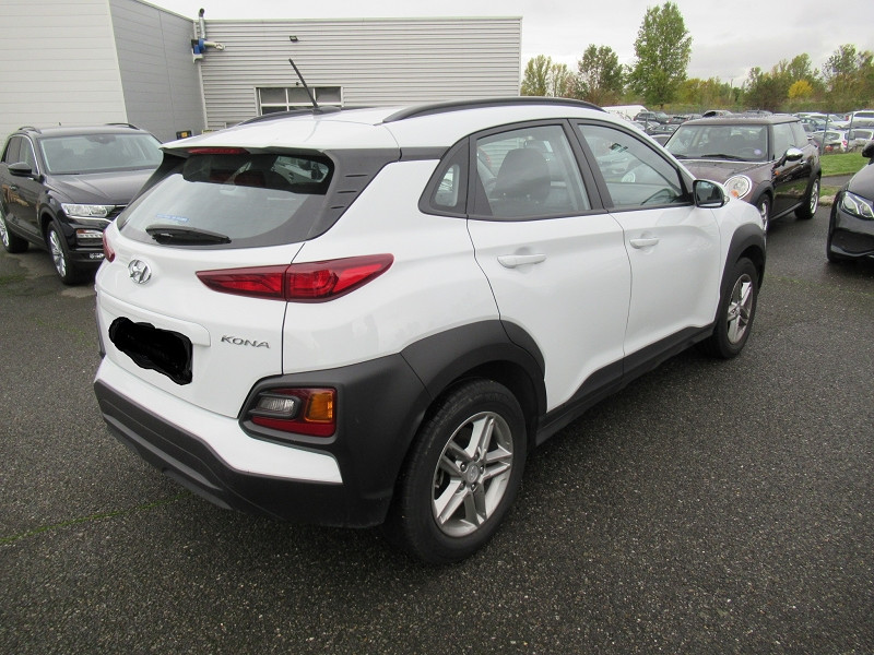 Hyundai Kona 1.6 CRDI 115CH INTUITIVE Blanc occasion à Labège - photo n°8