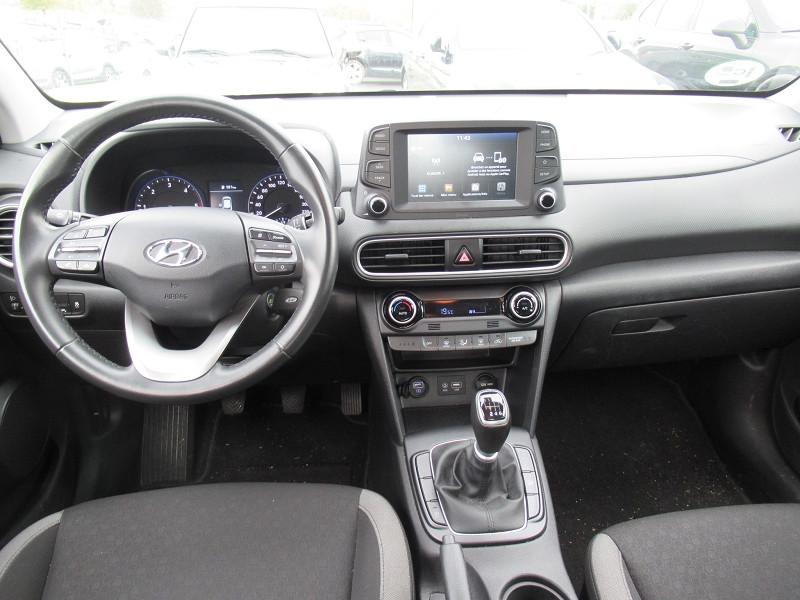 Hyundai Kona 1.6 CRDI 115CH INTUITIVE Blanc occasion à Labège - photo n°3