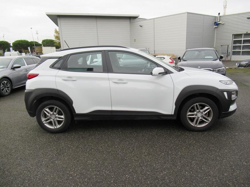 Hyundai Kona 1.6 CRDI 115CH INTUITIVE Blanc occasion à Labège - photo n°6