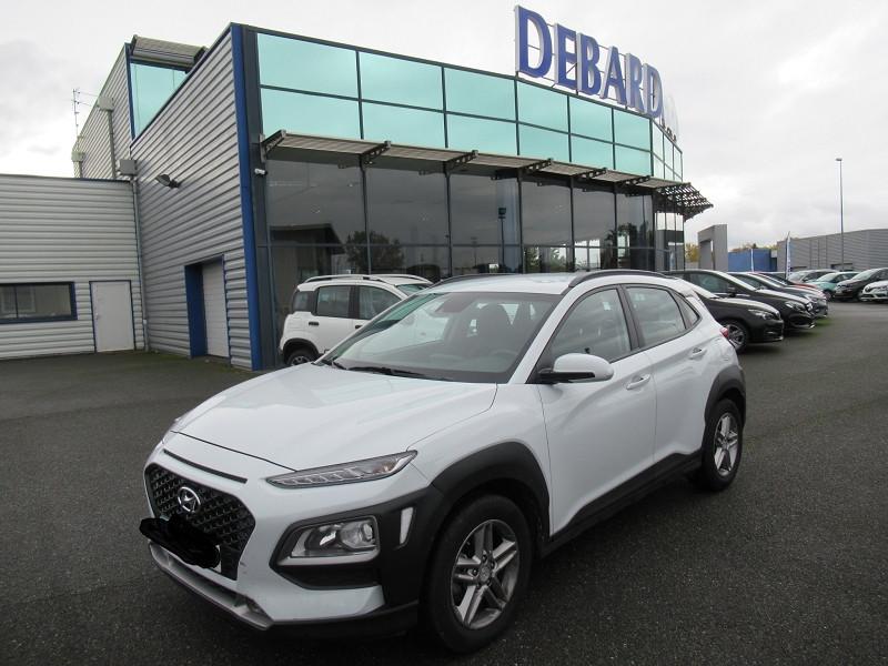 Hyundai Kona 1.6 CRDI 115CH INTUITIVE Blanc occasion à Labège