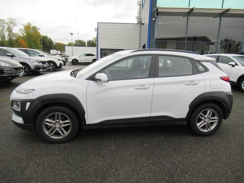 Hyundai Kona 1.6 CRDI 115CH INTUITIVE Blanc occasion à Labège - photo n°4