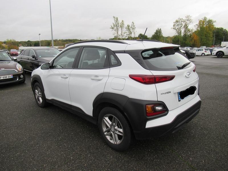 Hyundai Kona 1.6 CRDI 115CH INTUITIVE Blanc occasion à Labège - photo n°5