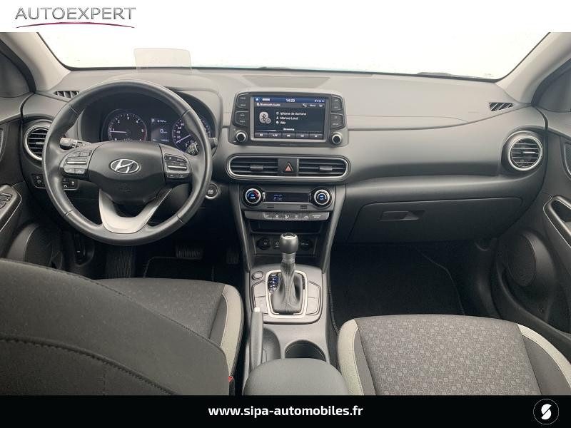 Hyundai Kona 1.6 CRDi 136ch Creative DCT-7 Bleu occasion à Villenave-d'Ornon - photo n°3