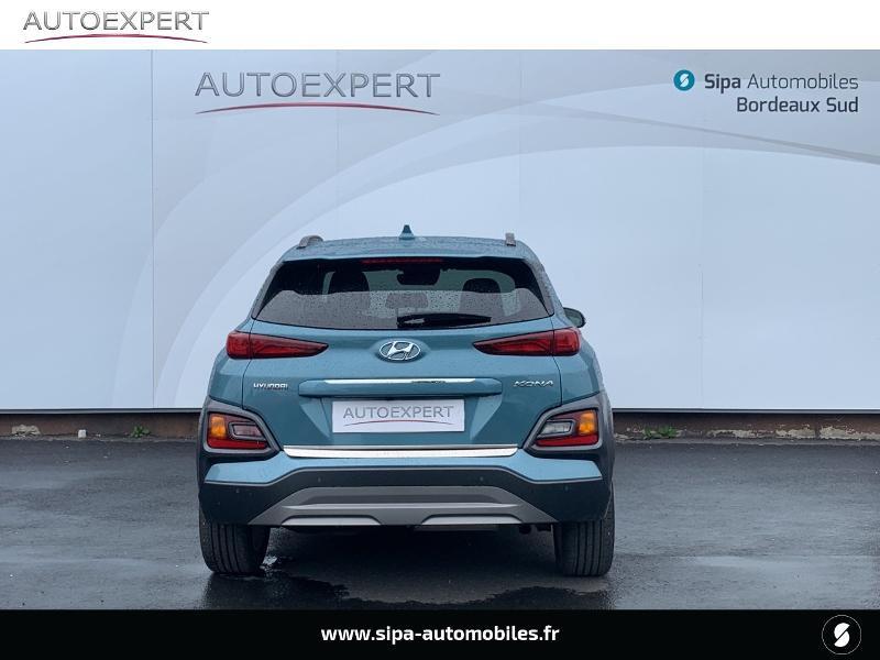 Hyundai Kona 1.6 CRDi 136ch Creative DCT-7 Bleu occasion à Villenave-d'Ornon - photo n°9