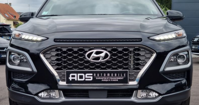 Hyundai Kona 1.6 CRDi 136ch Executive 4WD DCT-7 Euro6d-T EVAP Noir occasion à Diebling - photo n°2