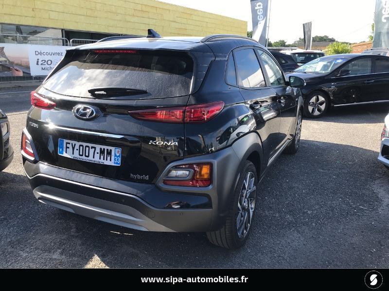 Hyundai Kona 1.6 GDi hybrid 141ch Creative DCT-6 Euro6d-T EVAP Noir occasion à La Teste-de-Buch - photo n°3
