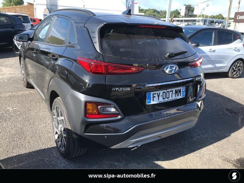 Hyundai Kona 1.6 GDi hybrid 141ch Creative DCT-6 Euro6d-T EVAP Noir occasion à La Teste-de-Buch - photo n°5