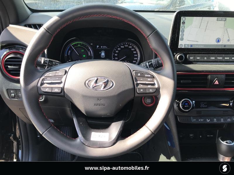 Hyundai Kona 1.6 GDi hybrid 141ch Creative DCT-6 Euro6d-T EVAP Noir occasion à La Teste-de-Buch - photo n°16