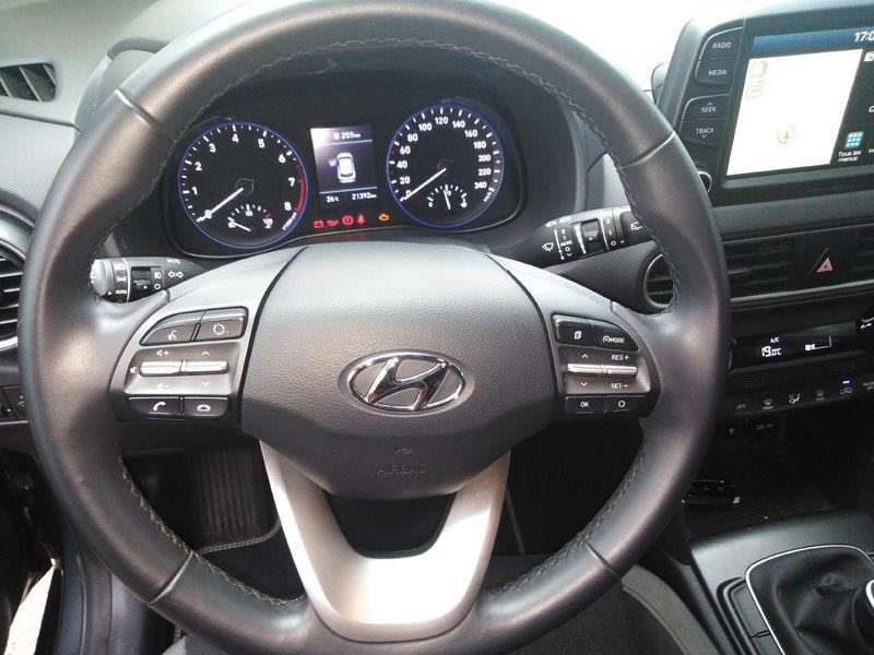 Hyundai Kona CREATIVE 1.0 T-GDI 120 CV Gris occasion à Cormeilles-en-Parisis - photo n°6