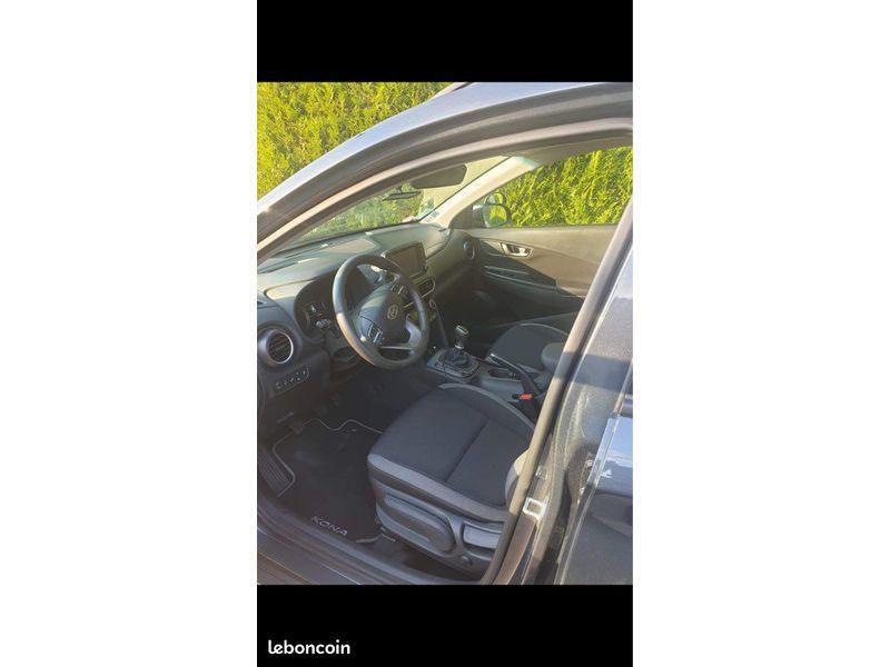 Hyundai Kona CREATIVE 1.0 T-GDI 120 CV Gris occasion à Cormeilles-en-Parisis - photo n°3
