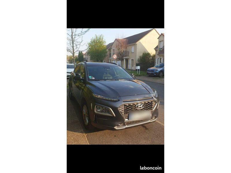 Hyundai Kona CREATIVE 1.0 T-GDI 120 CV Gris occasion à Cormeilles-en-Parisis