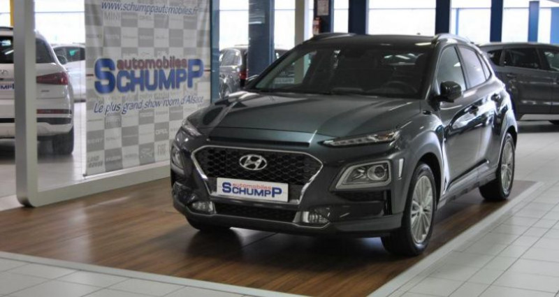 Hyundai Kona CREATIVE 1.6l CRDI 136 DCT-7  occasion à HAGUENEAU - photo n°4
