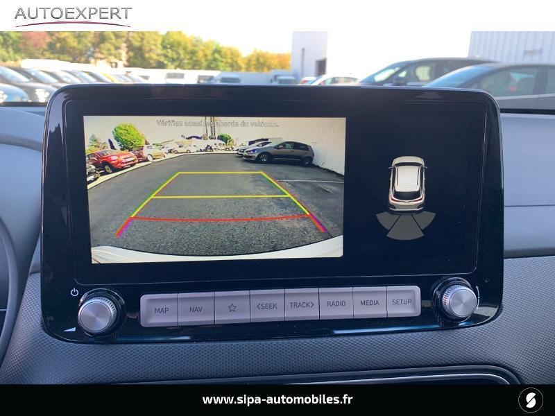 Hyundai Kona Electric 136ch Creative Euro6d-T EVAP 2cv Blanc occasion à Le Bouscat - photo n°5