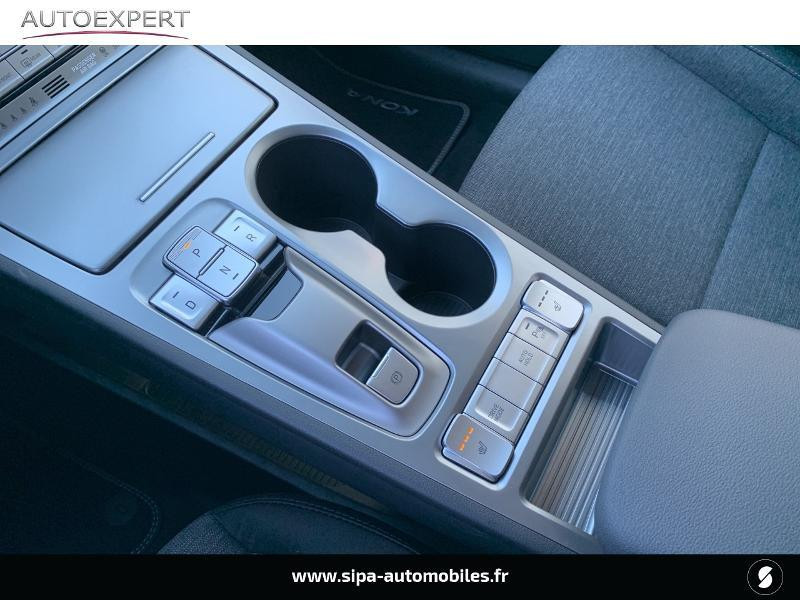 Hyundai Kona Electric 136ch Creative Euro6d-T EVAP 2cv Blanc occasion à Le Bouscat - photo n°16