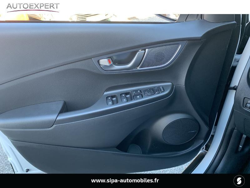 Hyundai Kona Electric 136ch Creative Euro6d-T EVAP 2cv Blanc occasion à Le Bouscat - photo n°17