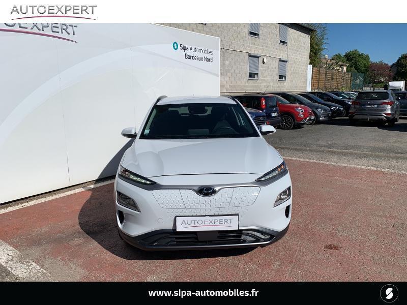 Hyundai Kona Electric 136ch Creative Euro6d-T EVAP 2cv Blanc occasion à Le Bouscat - photo n°8