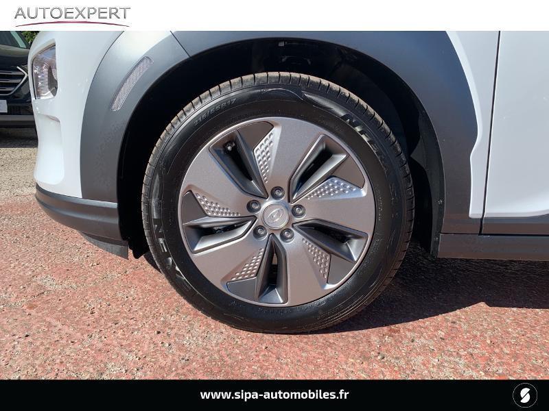Hyundai Kona Electric 136ch Creative Euro6d-T EVAP 2cv Blanc occasion à Le Bouscat - photo n°7