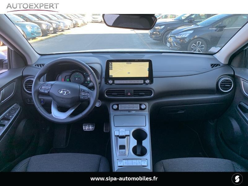 Hyundai Kona Electric 136ch Creative Euro6d-T EVAP 2cv Blanc occasion à Le Bouscat - photo n°3