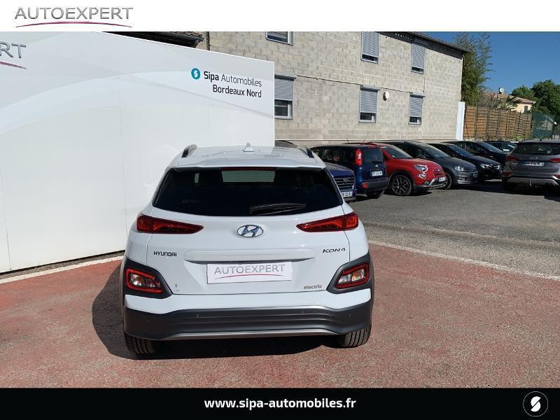 Hyundai Kona Electric 136ch Creative Euro6d-T EVAP 2cv Blanc occasion à Le Bouscat - photo n°9